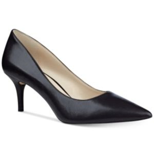 Nine West Margot Pump Black  Leather